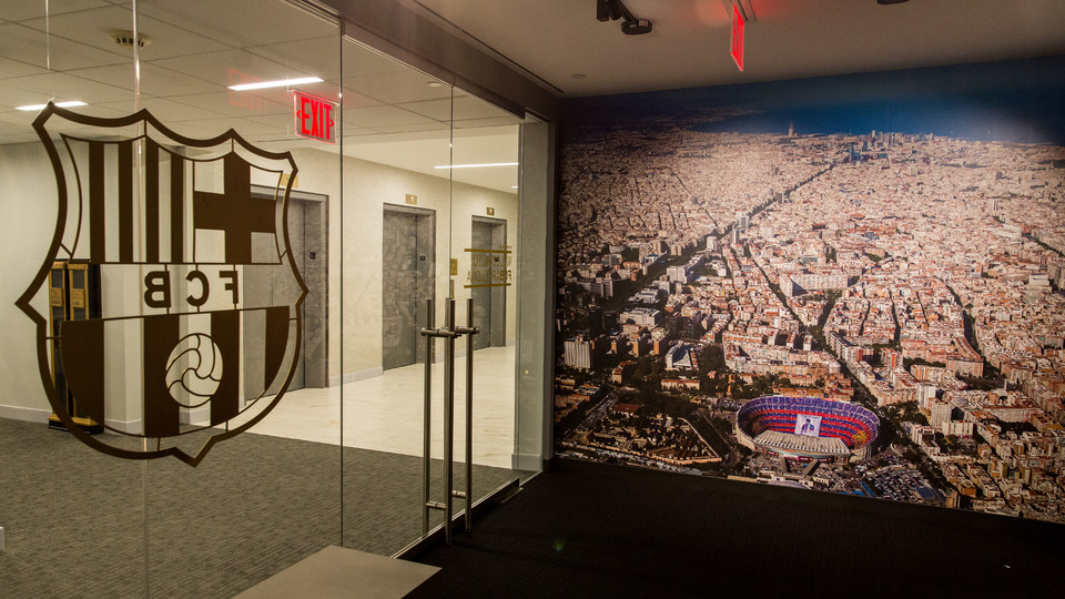 Fc barcelona 39 s office in the united states fc barcelona for Nike barcelona oficinas