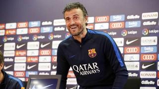 """""""Tots els partits a domicili són difícil i més contra l'Espanyol, però intentarem superar-lo a través de les nostres qualitats i haurem d'estar atents"""", ha afirmat el tècnic asturià"""