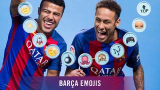 Barça emojis: Neymar Jr & Rafinha