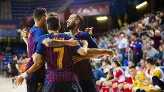 Barça Lassa – KMF Ekonomac: First test passed (6-1)