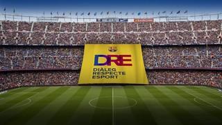 Se desplegará en la zona del Lateral del Camp Nou instantes antes del partido correspondiente en la tercera jornada de la Liga de Campeones
