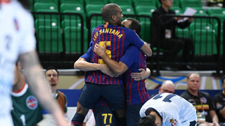 Barça Lassa v Elite Futsal: Convincing win on debut (8-0)