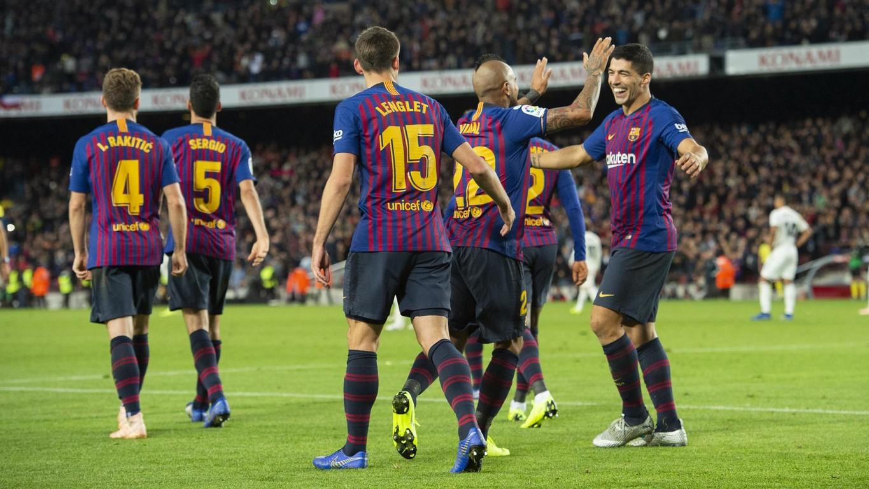 El FC Barcelona ha estat, juntament amb l'Alabès, l'equip que més punts ha sumat en els últims quatre partits de Lliga, des de l'última aturada per seleccions
