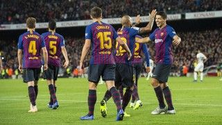 FC Barcelona are, along with Alaves, the side with the most points from the last four LaLiga games since the previous international break