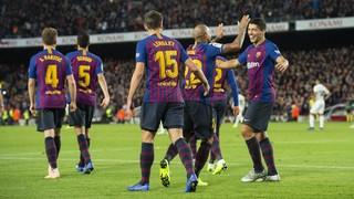 El FC Barcelona ha sido, junto con el Alavés, el equipo que más puntos ha sumado en los últimos cuatro partidos de Liga, desde el último parón por selecciones