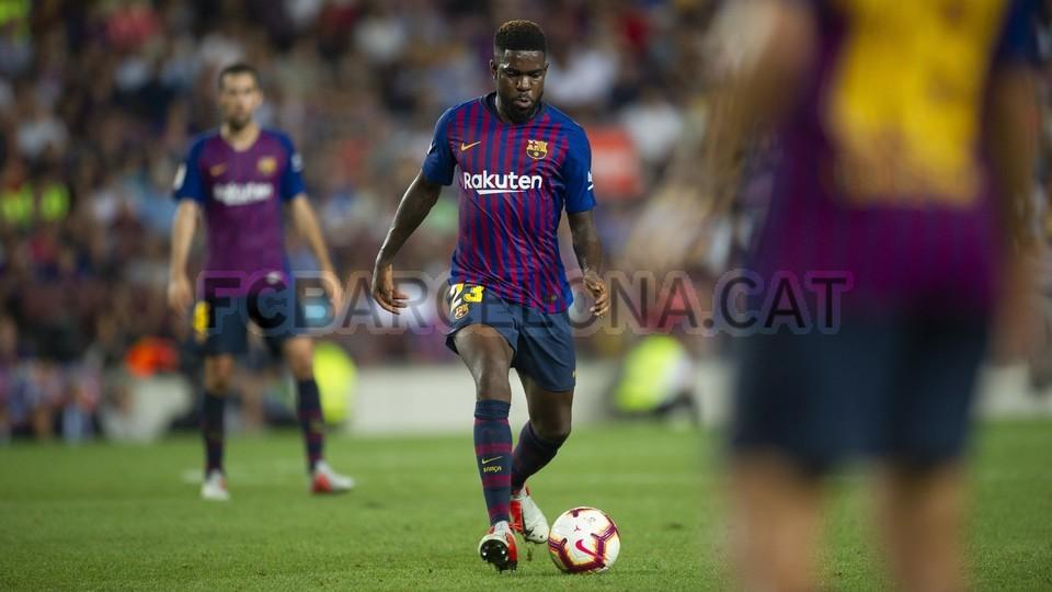 صور مباراة : برشلونة - جيرونا 2-2 ( 23-09-2018 )  99551892