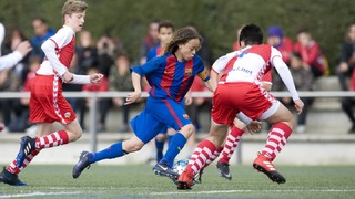 Five best goals from the FC Barcelona Academy (25-26th March)