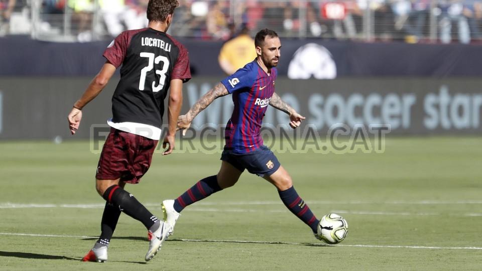صور مباراة : برشلونة - ميلان 0-1 ( 05-08-2018 )  95385748