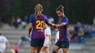 FC Barcelona Femenino - Sant Gabriel: Cogiendo ritmo a base de goles (7-0)
