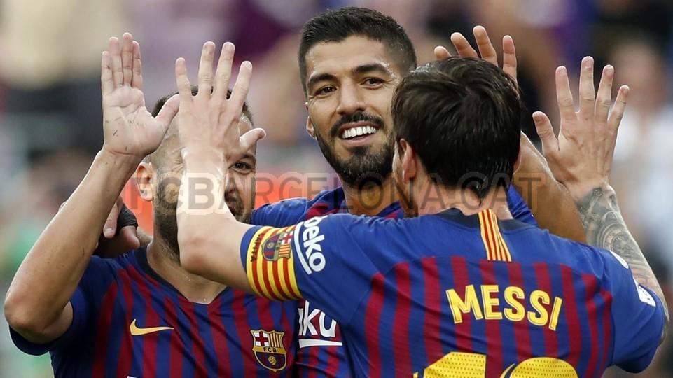 صور مباراة : برشلونة - هويسكا 8-2 ( 02-09-2018 )  97495445