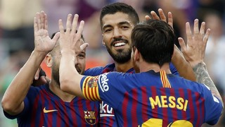 La Liga · Matchday 5 · Sunday, September 23, 2018 · 8.45pm CEST · Camp Nou