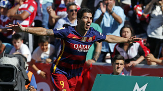 Granada happy hunting ground for Luis Suárez