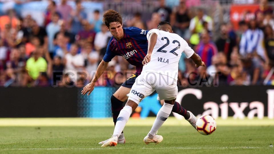 صور مباراة : برشلونة - بوكا جونيورز ( 16-08-2018 )  95975439