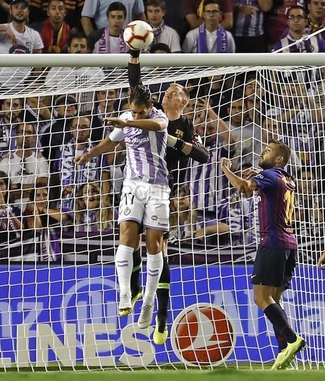 صور مباراة : بلد الوليد - برشلونة 0-1 ( 25-08-2018 )  96768527