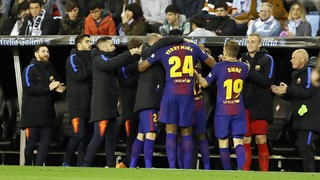 Lo que no has visto del Celta-Barça