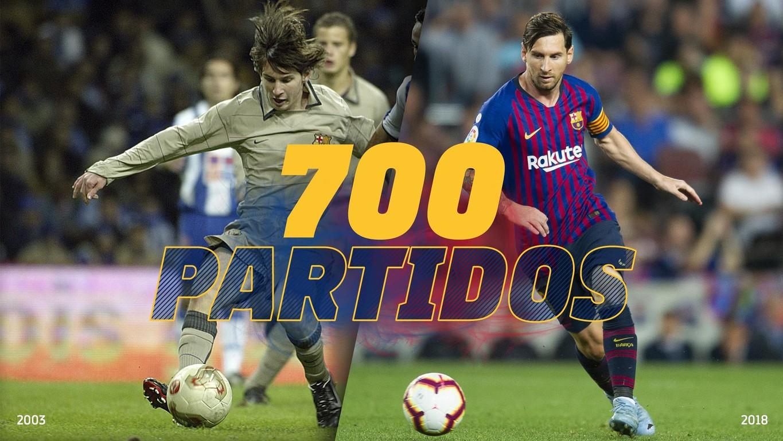 En estos 699 compromisos -55 de los cuales no son oficiales- el crack argentino ha marcado 595 goles