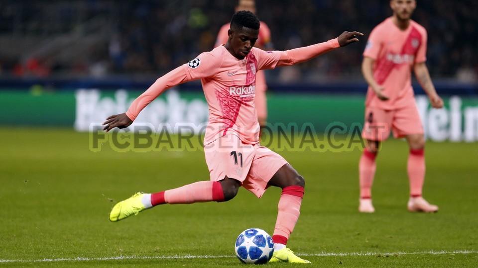 صور مباراة : إنتر ميلان - برشلونة 1-1 ( 06-11-2018 )  102164495