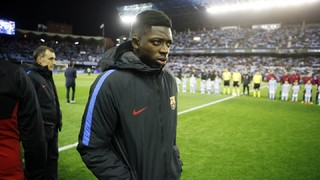 The unseen video of Ousmane Dembélé's return after 100 days
