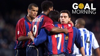 Goal Morning! Happy birthday Saviola!
