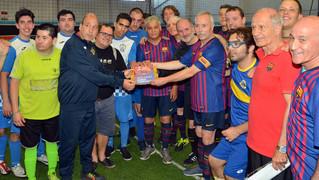 La ABJ jugó dos partidos de exhibición en Sant Quirze del Vallès para apoyar y visibilizar al colectivo