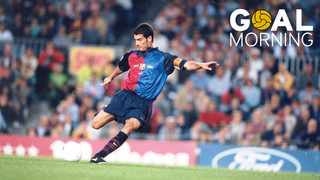 Goal morning: Recordes el gol de Guardiola contra el Valladolid?