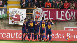 Cultural Lleonesa – FC Barcelona B: Bittersweet point (1-1)