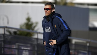 "Luis Enrique: ""We have to be effective in the league"""