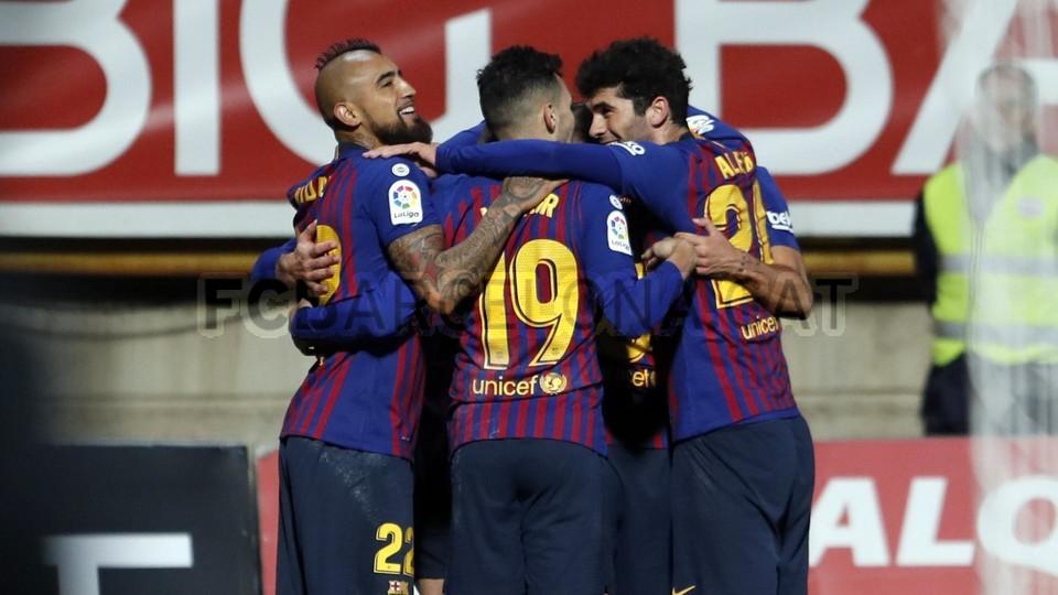 صور مباراة : كولتورال ليونيسا - برشلونة 0-1 ( 31-10-2018 ) كأس ملك إسبانيا 101926806