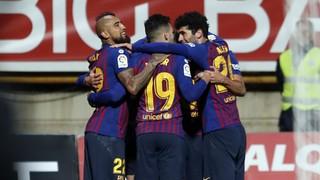 Cultural Leonesa 0 - FC Barcelona 1 (1 minute)