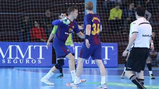 Barça Lassa wins at Zamora, 36-23
