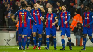 FC Barcelona 3 - Ath. Bilbao 1 (1 minuto)