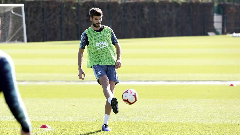 التدريبات متواصلة في برشلونة بانتظار التحاق آخر اللاعبين العائدين من المشاركة في المباريات الدولية مع منتخباتهم الوطنية 101157015
