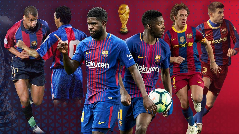 Repasamos todos los futbolistas que, a lo largo de la historia del Club, se han proclamado campeones del Mundial mientras eran jugadores del FC Barcelona