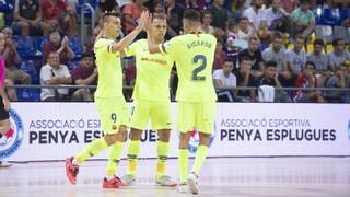 FC Barcelona Lassa 7 - Penya d'Esplugues 3 (Copa Catalunya)