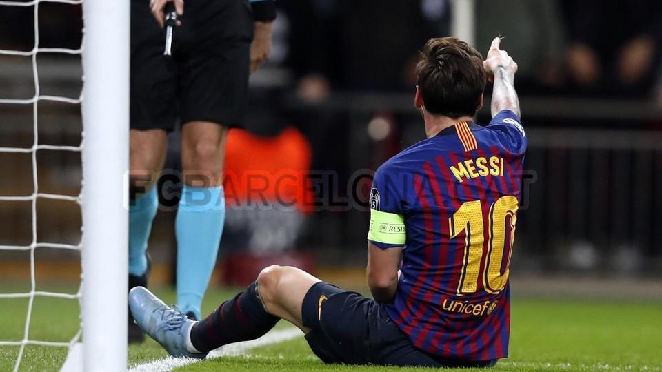 صور مباراة : توتنهام - برشلونة 2-4 ( 03-10-2018 )  100686487