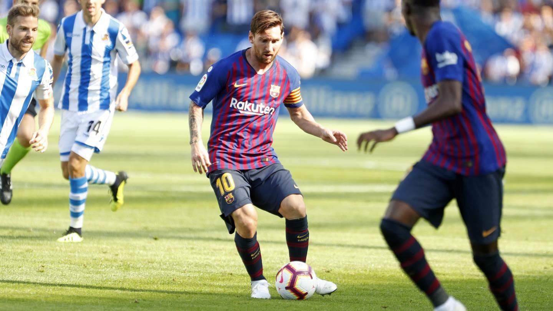 صور مباراة : ريال سوسيداد - برشلونة 1-2 ( 15-09-2018 ) 98507416