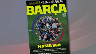 Revista Barça - Making of with Andrés Iniesta