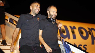 FC Barcelona in good company at Vitoria's airport