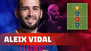 Aleix Vidal revela els seus futbolistes preferits