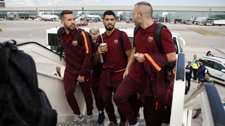 FC Barcelona is in the Portuguese capital for Wednesday night's Champions League group stage clash with Sporting (All times are in Central European Time)