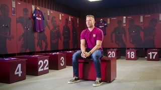 Arthur Melo : I've been admiring the Barça style since childhood