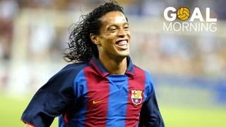 GOAL MORNING!!! Ronaldinho vs Milan! #BarçaUSTour