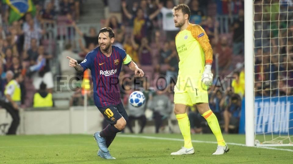 صور مباراة : برشلونة - PSV إندهوفن 4-0 ( 18-09-2018 )  98901658