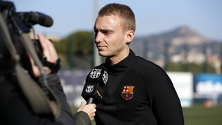 The FC Barcelona goalkeeper, who has played in every game so far for his side in the Copa del Rey this season, talks about Wednesday's quarter final first leg against Espanyol