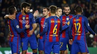 FC Barcelona 4 - Borussia Mönchengladbach 0 (3 minutes)