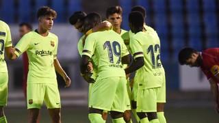 Figueres- Barça B: Victòria blaugrana amb remuntada inclosa (1-2)