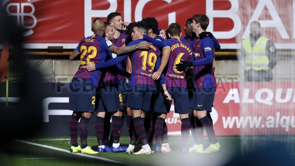 صور مباراة : كولتورال ليونيسا - برشلونة 0-1 ( 31-10-2018 ) كأس ملك إسبانيا 101926812