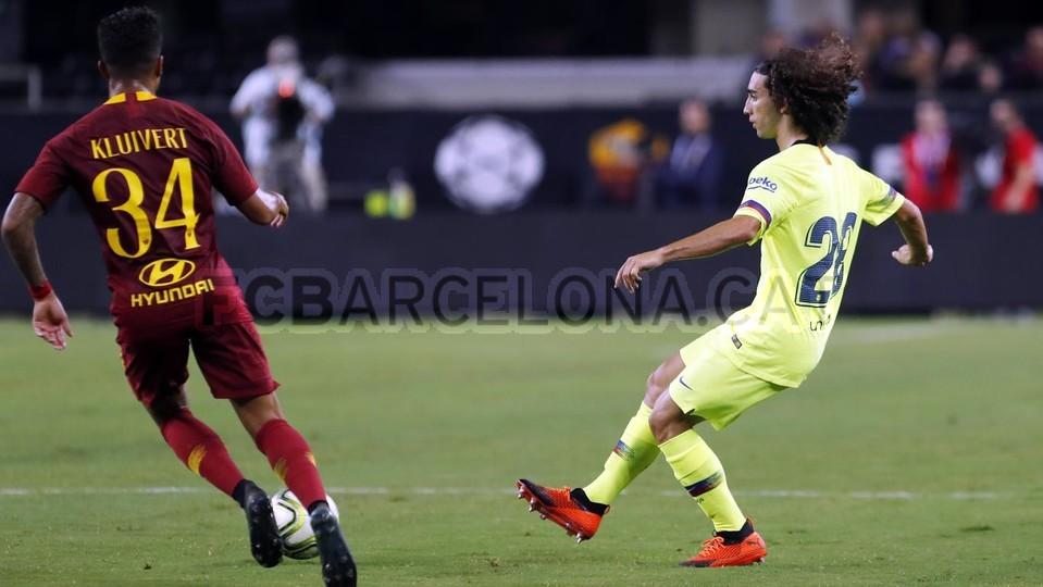 صور مباراة : برشلونة - روما 4-2 ( 01-08-2018 )  95179932