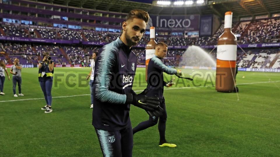 صور مباراة : بلد الوليد - برشلونة 0-1 ( 25-08-2018 )  96768413