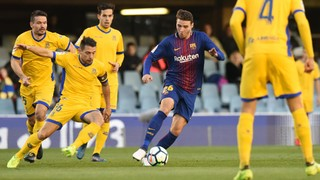 Barcelona B 0-1 Alcorcon: Winning streak comes to an end